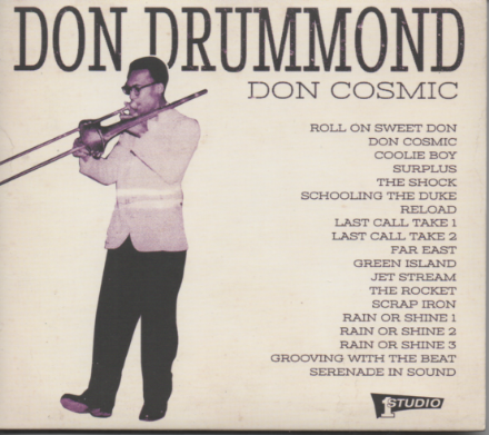 Don Drummond - Don Cosmic (Studio One / Yep Roc) CD